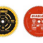 Best 7-1/4 circular saw blades