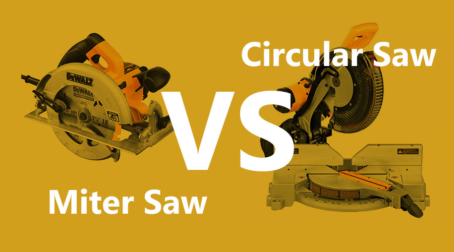 Miter Saw vs. Circular Saw – Main Differences